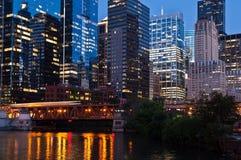 Город Чiкаго Стоковое Изображение RF