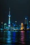 Город Шанхай Стоковое Изображение RF