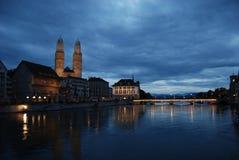 Город Швейцария Люцерна озера моста здания стоковые фото