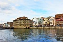 Город Швейцария Цюриха Стоковое Фото