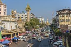 Город Янгона Стоковое Фото