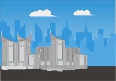 Город стоковое фото