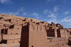 Город Ait Бен Haddou в Марокко Стоковая Фотография