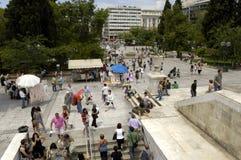 Город Athenes Стоковое Изображение RF