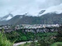Город Baños de Agua Санты стоковые изображения rf