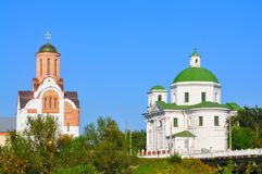Город Belaya Tserkov, Украины Стоковая Фотография