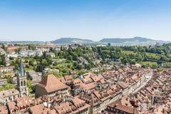 Город Bern, столица Швейцарии Стоковые Изображения