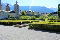 Город Briga в Швейцарии Стоковая Фотография RF