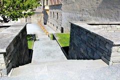 Город Briga в Швейцарии Стоковые Фото