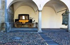 Город Briga в Швейцарии Стоковые Фотографии RF