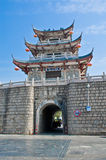город chaozhou, Гуандун, фарфор стоковая фотография rf