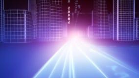 город 3d иллюстрация штока