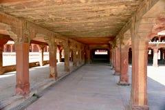 Город Fatehpur дезертированный Sikri в Индии стоковое изображение