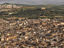 Город Fez, Марокко Стоковые Изображения RF