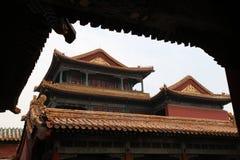 Город Forbitten, Пекин Китай Стоковая Фотография RF