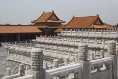Город Forbitten - Пекин Стоковая Фотография RF