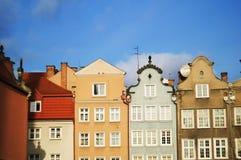 город gdansk старый Стоковое Изображение