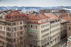 город geneva Швейцария Городской пейзаж стоковое фото