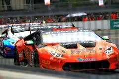Город Grand Prix Lamborghini супер Trofeo KL Стоковые Изображения