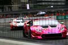 Город Grand Prix Lamborghini супер Trofeo KL Стоковое фото RF