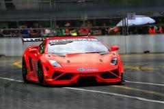 Город Grand Prix Lamborghini супер Trofeo KL Стоковые Фотографии RF