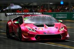 Город Grand Prix Lamborghini супер Trofeo KL Стоковая Фотография