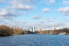 Город Himki, область Москвы стоковые изображения