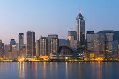 город Hong Kong Стоковое Изображение RF