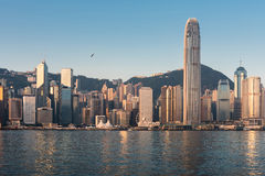 город Hong Kong Стоковое Фото