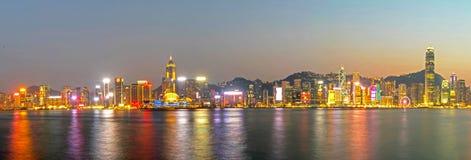 город Hong Kong Стоковое Изображение
