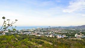 Город Hua Hin ландшафта Стоковое Изображение RF
