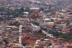 Город i Zacatecas стоковое изображение rf