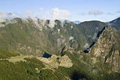 Город Incas Machu Pichu в Cusco, Перу Стоковые Изображения RF