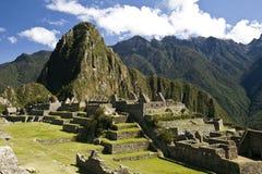 Город Incas Machu Pichu в Cusco, Перу Стоковые Изображения