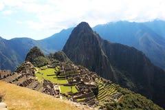 Город Inca Machu Picchu Стоковое Изображение