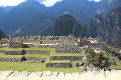 Город Inca Machu Picchu Стоковые Изображения RF