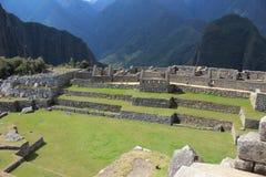 Город Inca Machu Picchu Стоковая Фотография