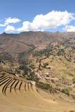 Город Inca Pisac Стоковая Фотография RF