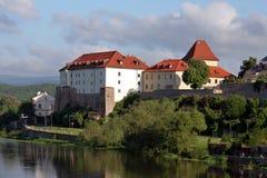 Город Kadaň, чехия стоковые фотографии rf