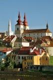 Город Kadaň, чехия стоковые изображения rf