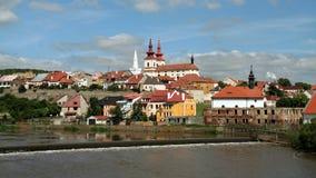 Город Kadaň, чехия стоковые фото