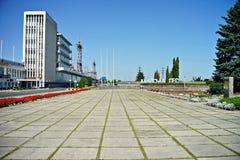 Город Kaniv, Украина Река Dnipro Парк Taras Shevchenko Стоковое Изображение RF