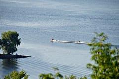 Город Kaniv, Украина Река Dnipro Парк Taras Shevchenko Стоковое Фото