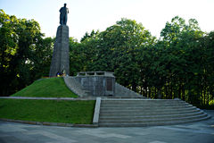 Город Kaniv, Украина Река Dnipro Парк Taras Shevchenko Стоковые Изображения
