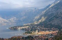 Город Kotor, Черногория Стоковые Фото