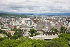 Город Kumamoto в Японии стоковые фотографии rf