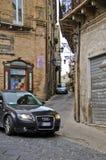 Город Lanciano - взгляд улицы Стоковые Фотографии RF