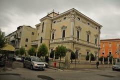 Город Lanciano - взгляд улицы Стоковая Фотография RF