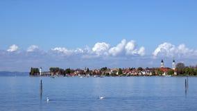 Город Lindau на Bodensee, Германии Стоковое Фото
