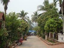 Город Luang Prabang. стоковые фотографии rf
